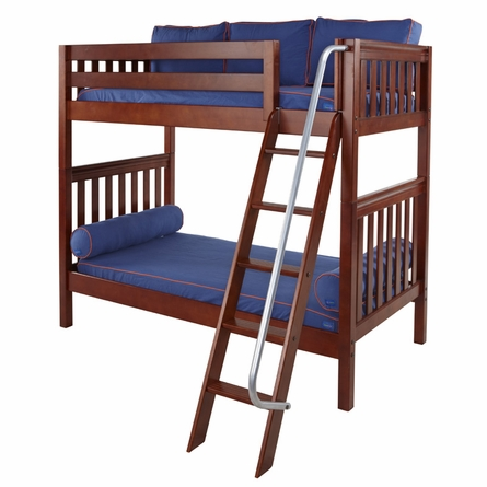 Blaine Slatted High Bunk Bed
