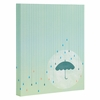 Blame It On The Rain Wrapped Canvas Art