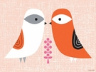 Blandford Birdies - Spring Canvas Wall Art