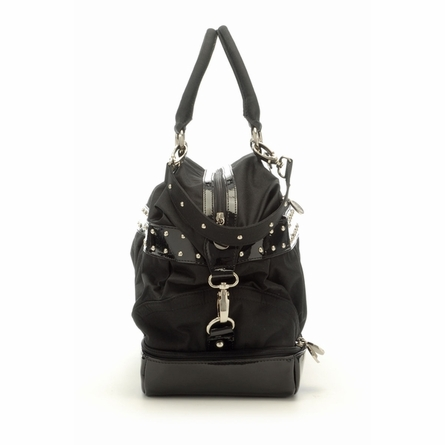 Bleecker Diaper Bag in Black