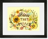 Bless this Home Framed Art Print