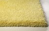 Bliss Shag Rug in Canary Yellow