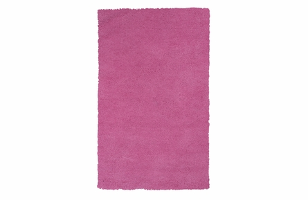 Bliss Shag Rug in Hot Pink