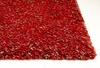 Bliss Shag Rug in Red Heather