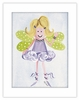 Blonde Fairy Framed Canvas Reproduction