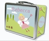 Blonde Hair Fairy Personalized Lunch Box