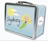 Blonde Hair Mermaid Personalized Lunch Box