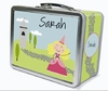 Blonde Hair Princess Personalized Lunch Box