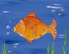 Blondy Fish Canvas Reproduction