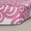 Bloom Crib Sheet in Petal Pink