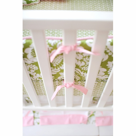 Bloom in Apple Crib Bumper