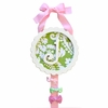 Bloom in Apple Monogram Barrette Holder