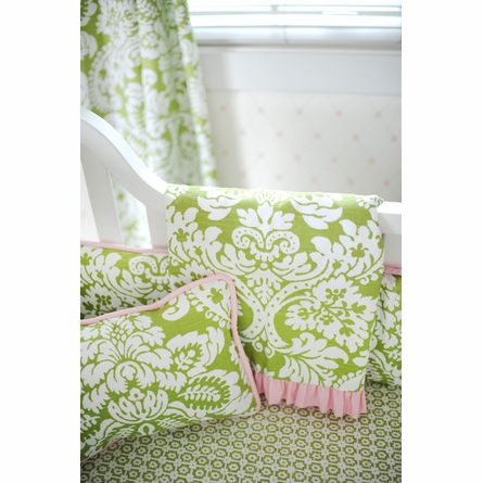 Bloom in Apple Throw Pillow