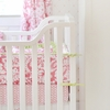 Bloom in Pink Crib Bumper