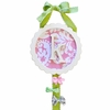 Bloom in Pink Monogram Barrette Holder