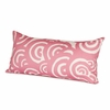 Bloom Throw Pillow in Petal Pink
