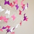 Blooms Pink and Purple Butterfly Mobile