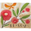 Blossom 1 Fleece Throw Blanket