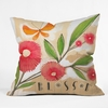 Blossom 1 Throw Pillow