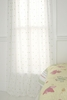 Blossom Dot Sheer Window Panel
