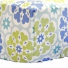 Blossom in Blue Crib Sheet