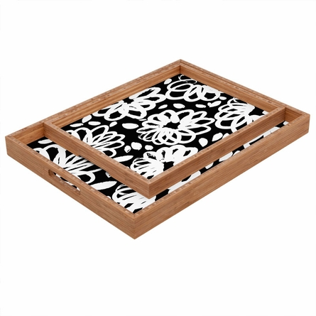 Blossom Mono Rectangle Tray