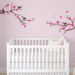 Blossoms and Branches Wall Decals