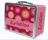 Blossoms Personalized Lunch Box