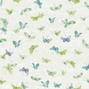 Blue and Green Butterflies Wallpaper