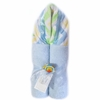 Blue and Yellow Chevron Hooded Towel