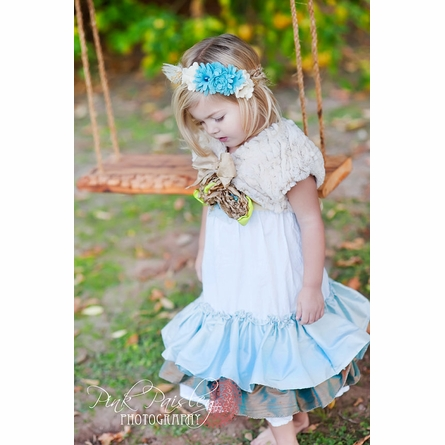 Blue Angel Braided Felt Headband
