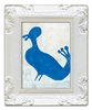 Blue Bird Decorative Framed Art Print