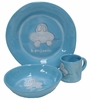 Blue Car Character Personalized Ceramic Dish Collection