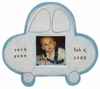 Blue Car Character Personalized Ceramic Picture Frame