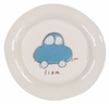 Blue Car on White Personalized Ceramic Dish Collection