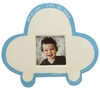 Blue Car Silhouette Personalized Ceramic Picture Frame