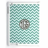 Blue Chevron Personalized iPad Case