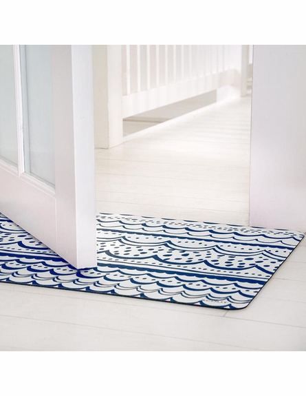 Blue Crush Floor Mat