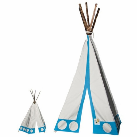 Blue Dot Tipi