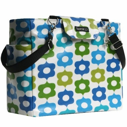 Blue Festival Lexington Diaper Bag