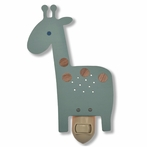 Blue Giraffe Night Light