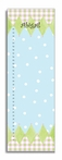 Blue Harlequin Personalized Growth Chart