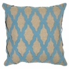 Blue Intrigue Pillow