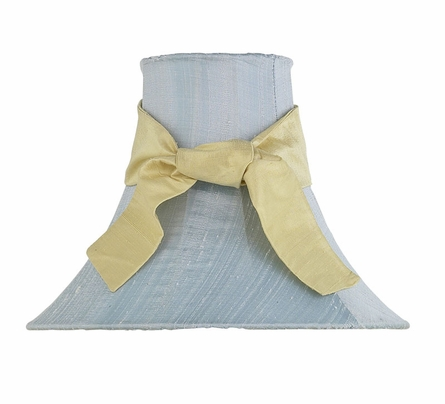 Blue Medium Bell Lamp Shade
