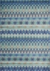 Blue Multi Stripe Madeline Rug