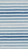 Blue Multi Stripe Piper Rug