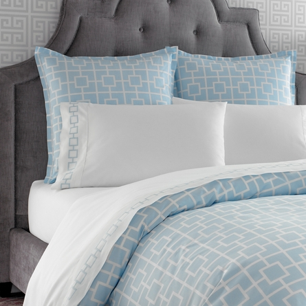 Blue Nixon Sheet Set - Twin