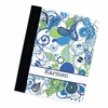 Blue Nouveau Paisley Personalized iPad Folio Case