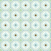 Blue Octagon Caden Lane Fabric by the Yard