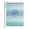 Blue Ombre Diamonds Personalized iPad Case